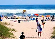 Enjoy miles and miles of sandy ocean beaches perfect for sunning, swimming and surfing